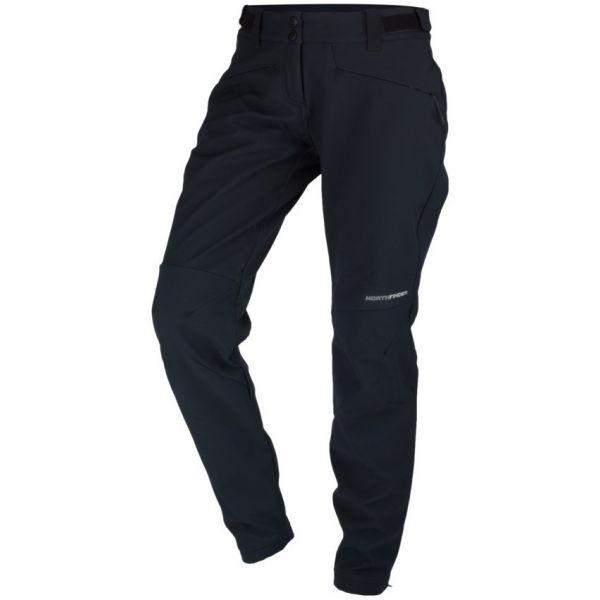 Northfinder GORANNEWA černá S - Dámské softshelllové kalhoty