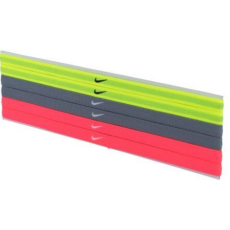 Dámske čelenky - Nike ELASTIC HAIRBANDS 6PK - 1