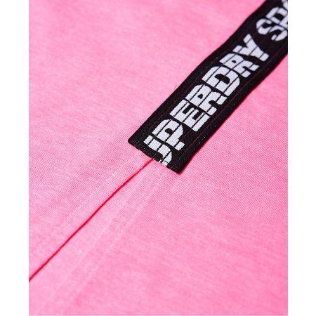 Dámske tričko - Superdry CORE SPLIT BACK TEE - 6