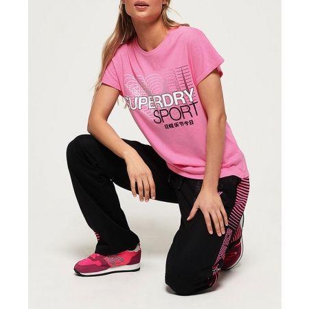 Dámske tričko - Superdry CORE SPLIT BACK TEE - 5