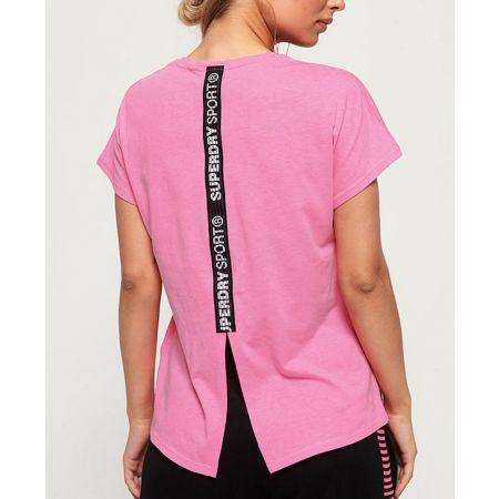 Dámske tričko - Superdry CORE SPLIT BACK TEE - 3
