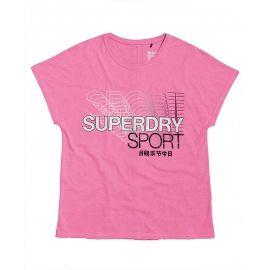 Superdry CORE SPLIT BACK TEE - Koszulka damska