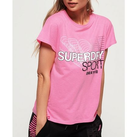 Dámske tričko - Superdry CORE SPLIT BACK TEE - 2
