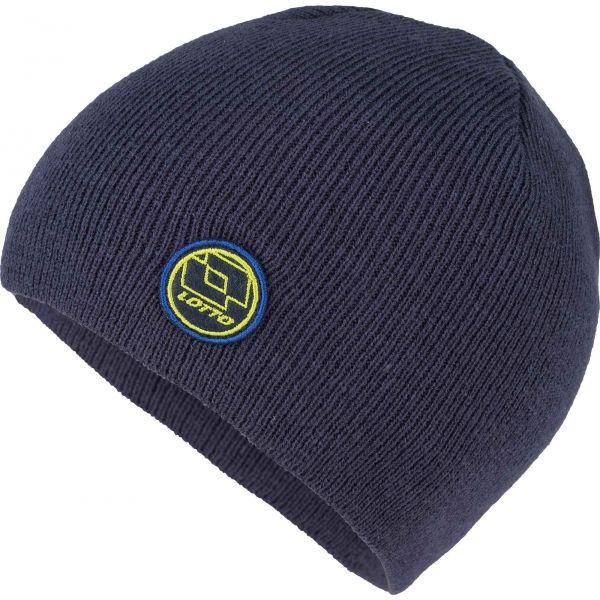 Lotto ORISE modrá UNI - Chlapecká pletená čepice