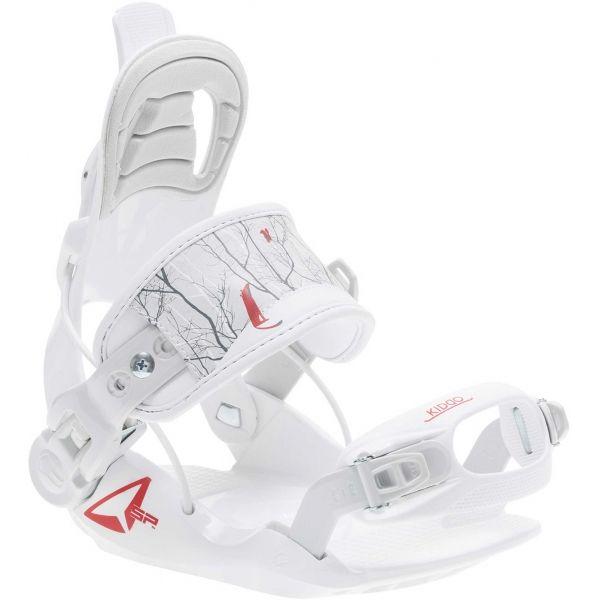 SP Connect KIDDO bílá XS - Snowboardové vázání