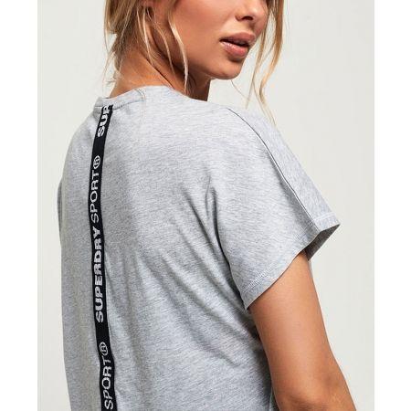 Дамска тениска - Superdry CORE SPLIT BACK TEE - 4