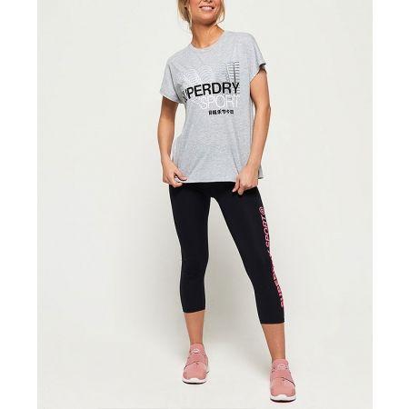 Дамска тениска - Superdry CORE SPLIT BACK TEE - 5