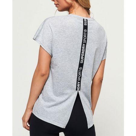 Дамска тениска - Superdry CORE SPLIT BACK TEE - 3