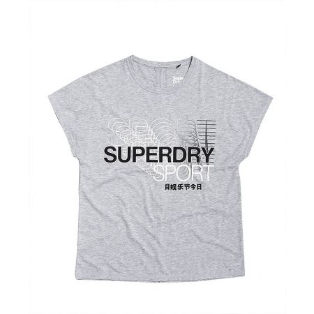 Superdry CORE SPLIT BACK TEE - Дамска тениска