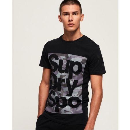 Мъжка тениска - Superdry COMBAT BOXER TEE - 2