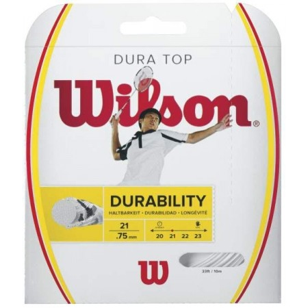 DURAMAX TOP - Badminton strings - Wilson DURAMAX TOP