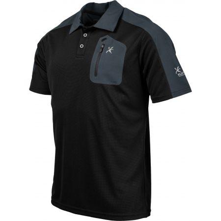 Мъжка тениска с якичка - Klimatex CABER - 2
