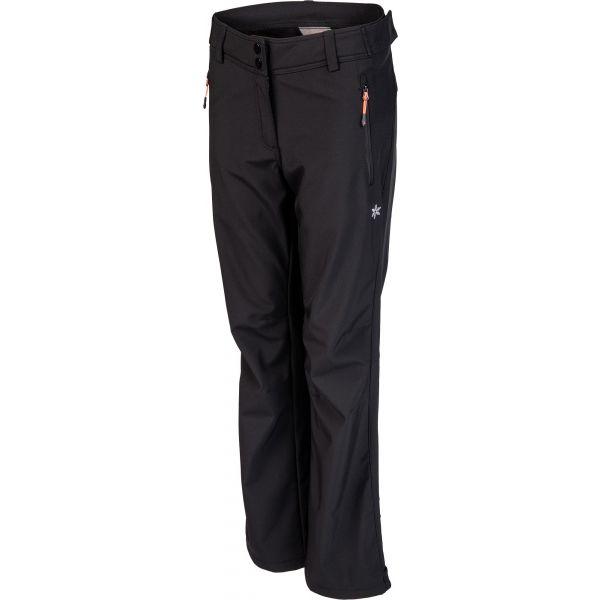 Willard CIARA černá XXL - Dámské softshellové kalhoty