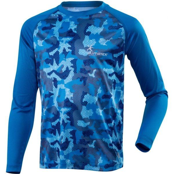 Klimatex ELISEO - Detské funkčné bežecké tričko so sublimačnou potlačou