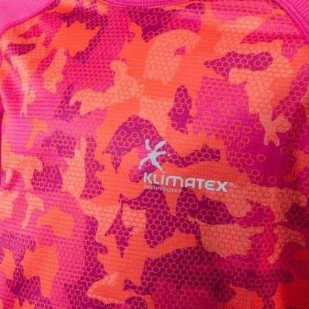 Dětské funkční běžecké triko se sublimačním potiskem - Klimatex ELISEO - 3