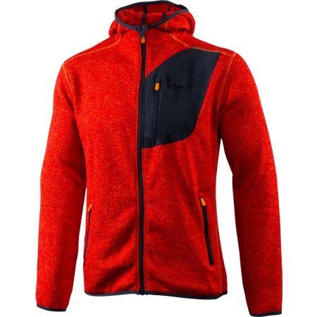 Pánsky outdoorový sveter s kapucňou - Klimatex ADIS - 1