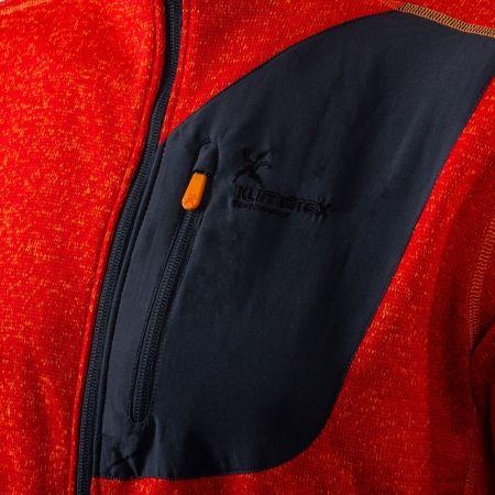 Pánsky outdoorový sveter s kapucňou - Klimatex ADIS - 3