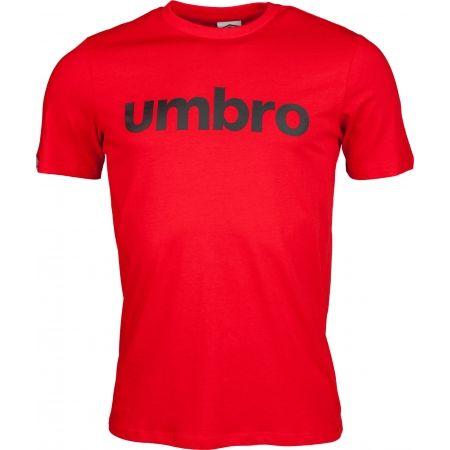 Pánske tričko - Umbro LINEAR LOGO GRAPHIC TEE - 1