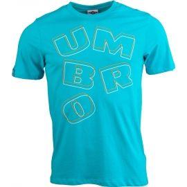 Umbro OVERSIZE WORDMARK GRAPHIC TEE - Pánske tričko