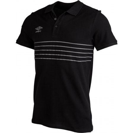 Pánské polo tričko - Umbro 5 STRIPE COTTON PIQUE POLO - 2