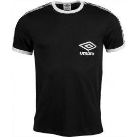 Umbro TAPED RINGER TEE - Pánske tričko