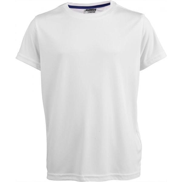 Kensis REDUS bílá 152-158 - Chlapecké sportovní triko