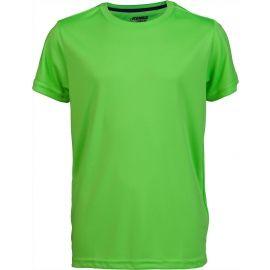 Kensis TKTE921-G REDUS GREEN - Tricou sport băieți
