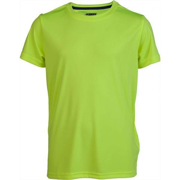 Kensis REDUS žlutá 152-158 - Chlapecké sportovní triko
