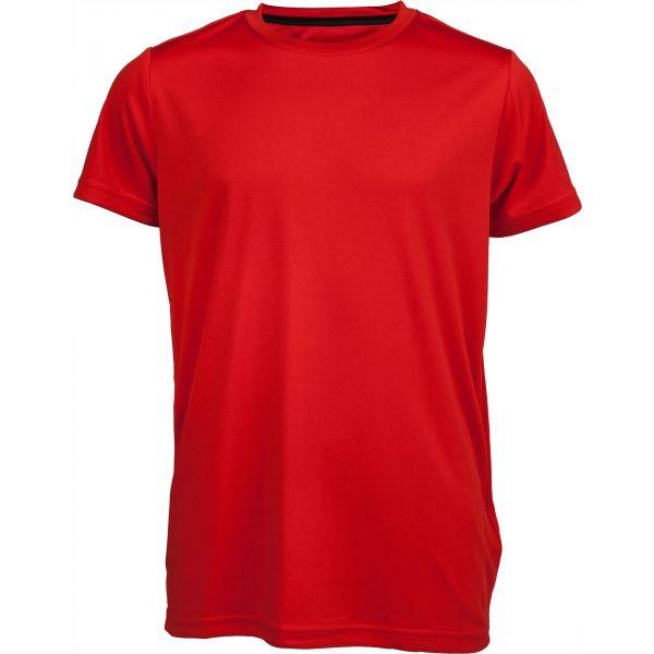Kensis REDUS červená 128-134 - Chlapecké sportovní triko
