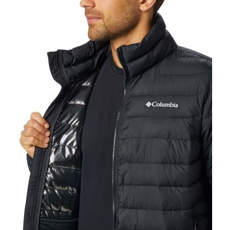 Pánska zimná bunda - Columbia POWDER LITE JACKET - 4