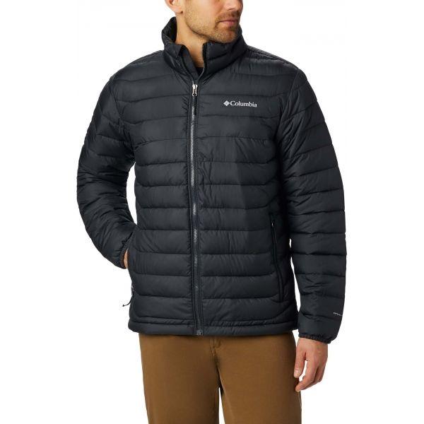 Columbia POWDER LITE JACKET černá XL - Pánská zimní bunda