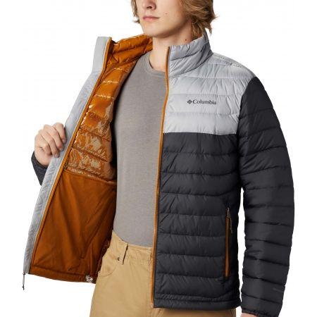 Pánska zimná bunda - Columbia POWDER LITE JACKET - 4