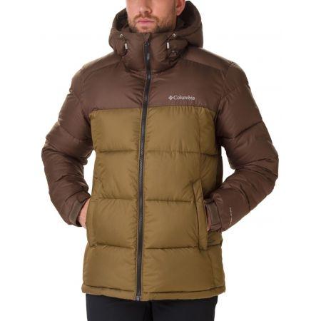 Columbia PIKE LAKE HOODED JACKET - Pánská zimní bunda
