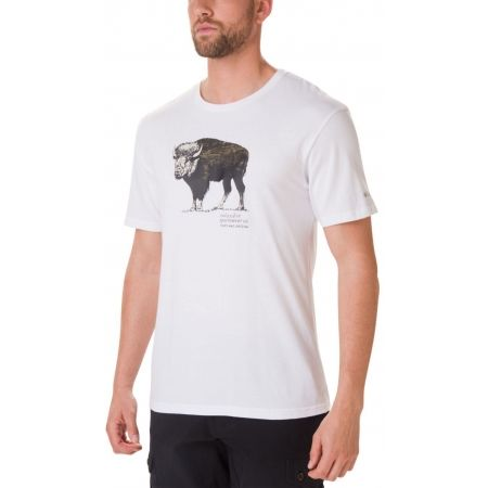 Men's T-shirt - Columbia MUIR PASS SS GRAPHIC TEE - 1