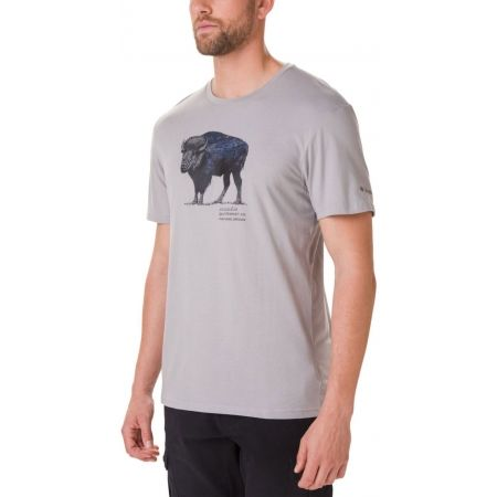 Columbia MUIR PASS SS GRAPHIC TEE - Мъжка тениска