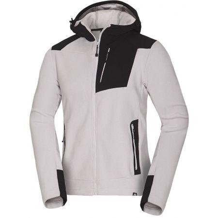 Men's fleece sweatshirt - Northfinder LASTONEL - 1