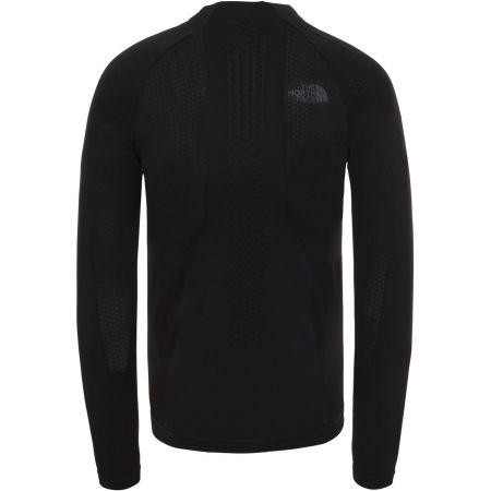 Tricou bărbați - The North Face SPORT L/S ZIP NECK M - 2