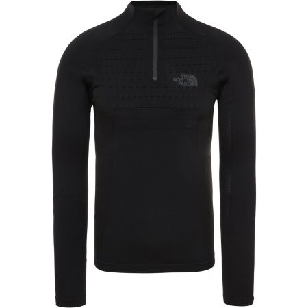 The North Face SPORT L/S ZIP NECK M - Men's T-shirt