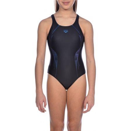 Dívčí jednodílné plavky - Arena G SLINKY JR V BACK ONE PIECE - 5