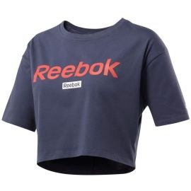 Reebok LINEAR LOGO CROP TEE - Women's T-shirt