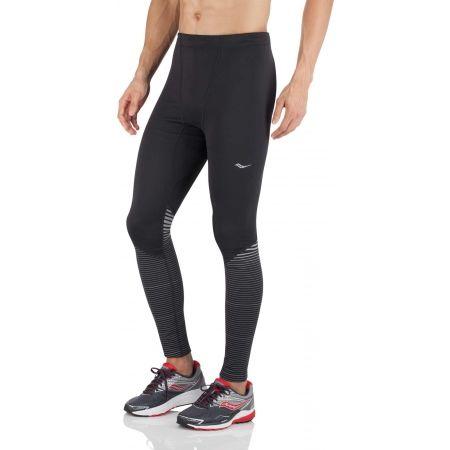 Pánské běžecké elasťáky - Saucony OMNI REFLEX TIGHT - 2