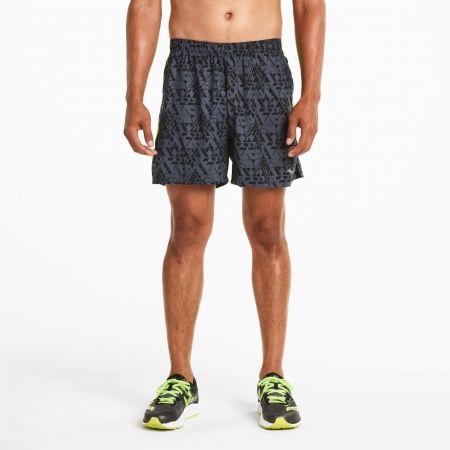 Saucony THROTTLE SHORT VARSITY - Pánské běžecké šortky