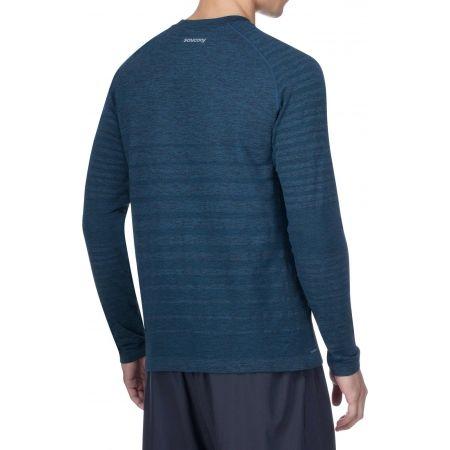 Men's running T-shirt - Saucony DASH SEAMLESS LONG SLEEVE - 3