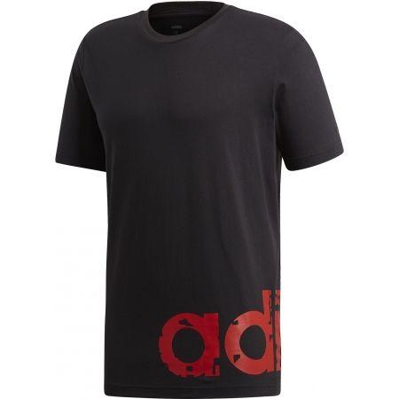 adidas M CORE GRAPHIC LINEAR TEE 2 - Pánske tričko