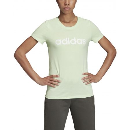 Дамска тениска - adidas ESSENTIALS LINEAR SLIM TEE - 3