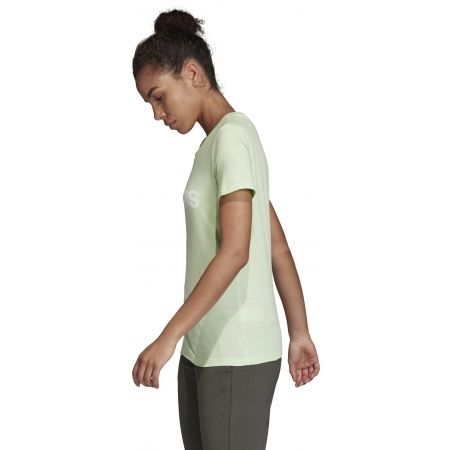 Дамска тениска - adidas ESSENTIALS LINEAR SLIM TEE - 6