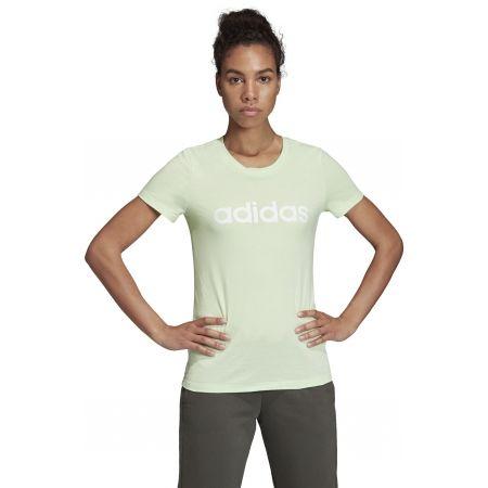 Дамска тениска - adidas ESSENTIALS LINEAR SLIM TEE - 4