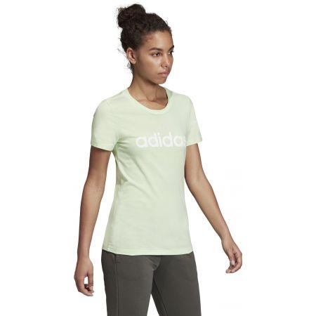 Дамска тениска - adidas ESSENTIALS LINEAR SLIM TEE - 5