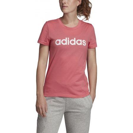 Dámske tričko - adidas ESSENTIALS LINEAR SLIM TEE - 3