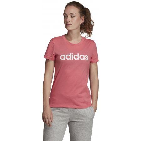 Dámske tričko - adidas ESSENTIALS LINEAR SLIM TEE - 4